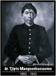 Biografi Tjipto Mangunkusumo, Anggota Tiga Serangkai yang Terkenal