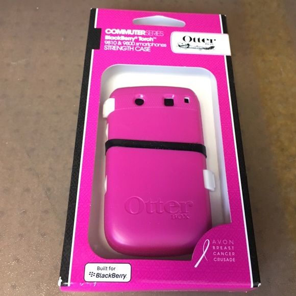 NWT: Otterbox Blackberry Torch Case This is a brand new in the case Blackberry Torch 9810 & 9800 smartphone strength case. Commuter series. If you have any questions please ask! OtterBox Accessories Phone Cases