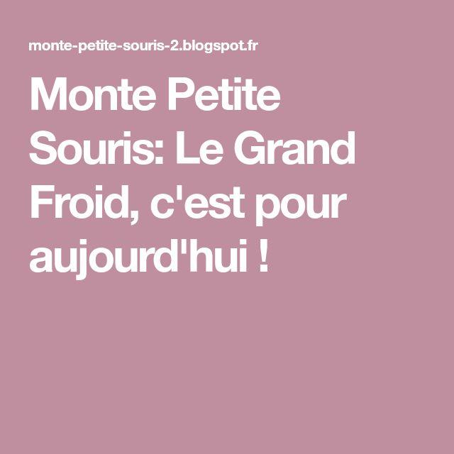 Monte Petite Souris: Le Grand Froid, c'est pour aujourd'hui !