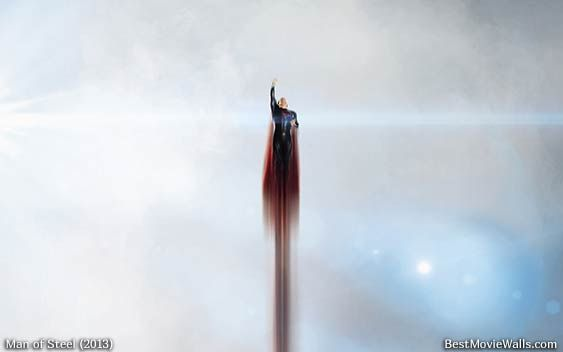 Clark Kent as Superman