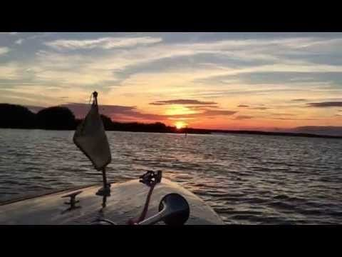 Bootsfahrt auf dem Steinhuder Meer - YouTube #steinhude #steinhudermeer #boot #sunset
