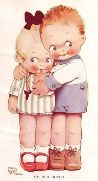 Illustration- Mabel Lucie Attwell- From the Little Folks Book, c.1922