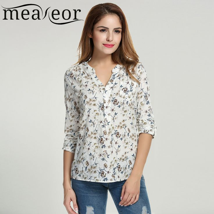 Cheap printed blouse, Buy Quality floral print blouse directly from China  blouses tops Suppliers:
