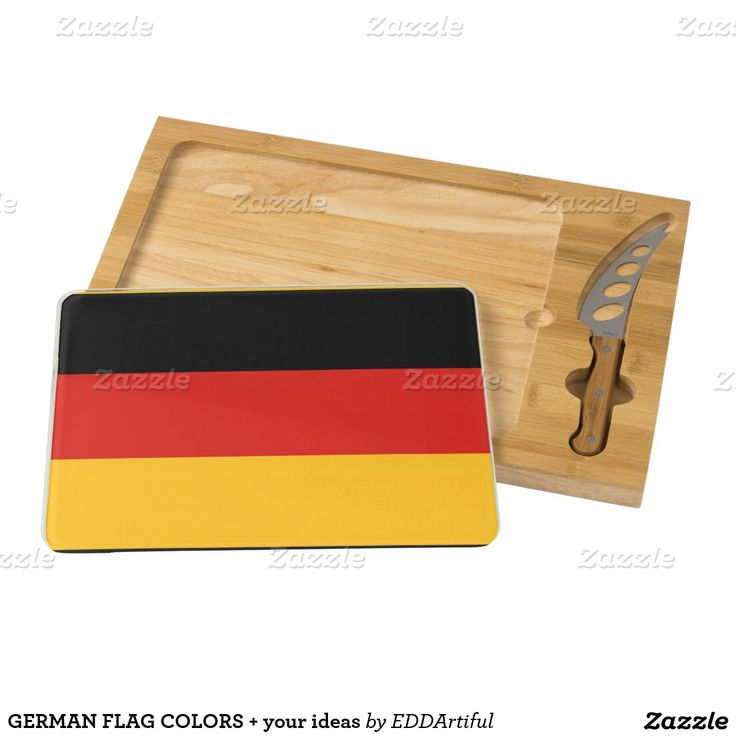GERMAN FLAG COLORS + your ideas Cheese Platter