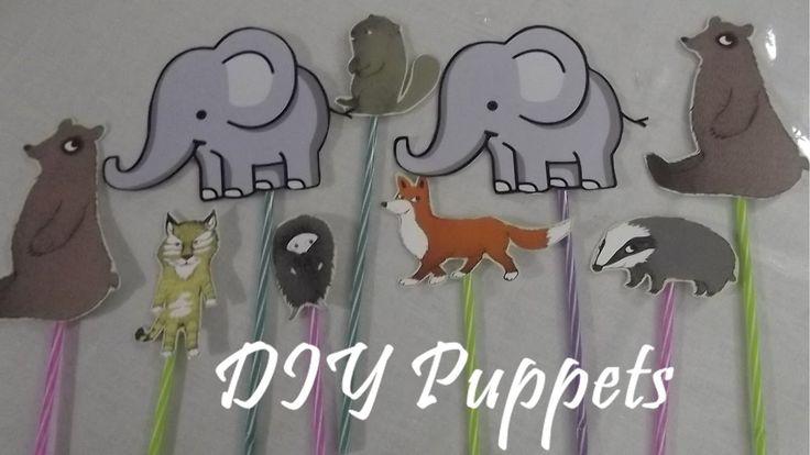 DIY Puppets - Φιγούρες για Κουκλοθέατρο