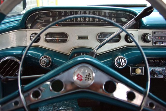 1958 chevrolet impala sport coupe dash detail view cool dashboards pinterest sports coupe 1962 cadillac wiring diagram 1962 Cadillac Vacuum Diagram