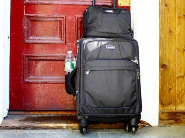 Luggage with Compartments by Genius Pack