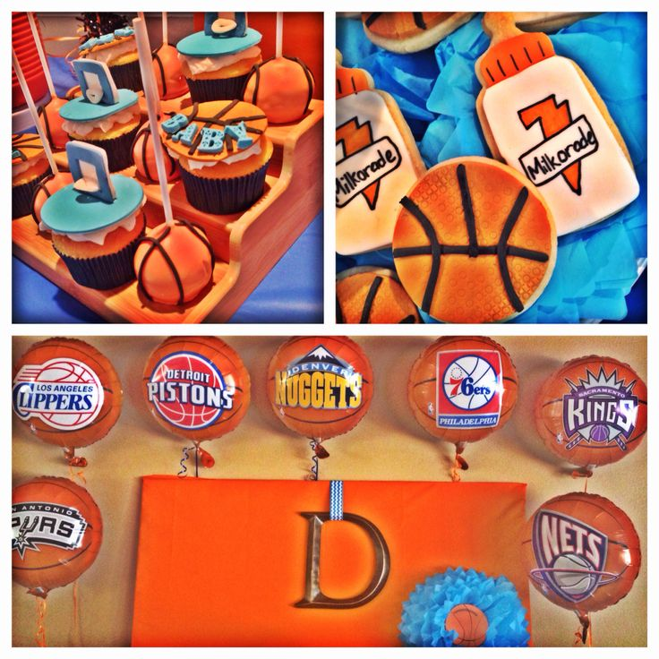 Charming Basketball Baby Shower