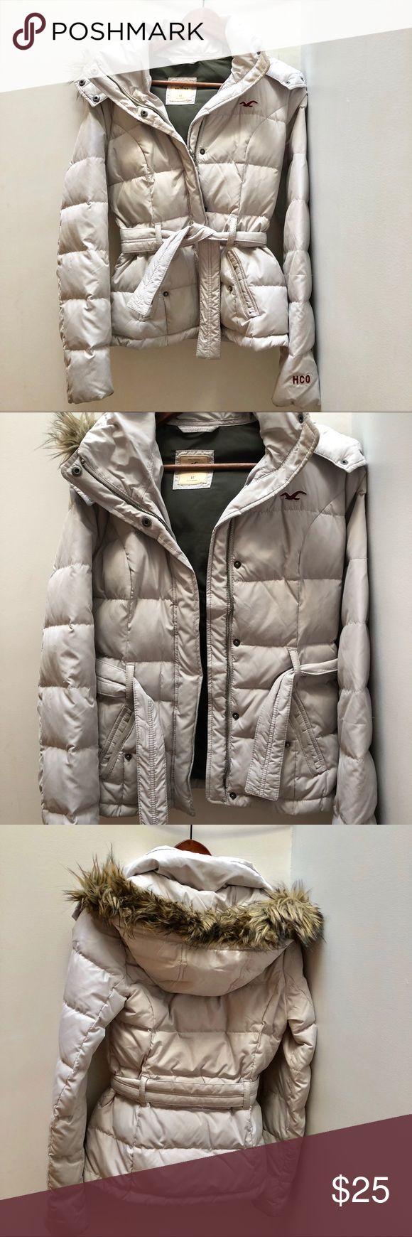 Hollister coats Size: XS Color: Silver Jackets & Coats