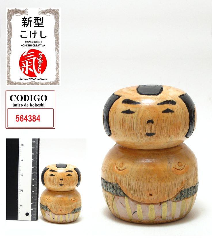 Kokeshi Luchador de Sumo