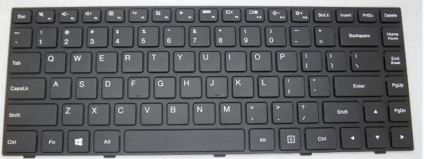 48.19$  Buy here - http://aliac5.worldwells.pw/go.php?t=32769603669 - Laptop Keyboard For LENOVO V490U V490UA With Silver Frame Hungarian 25210227 MP-12A66HU-686W LV5-HG