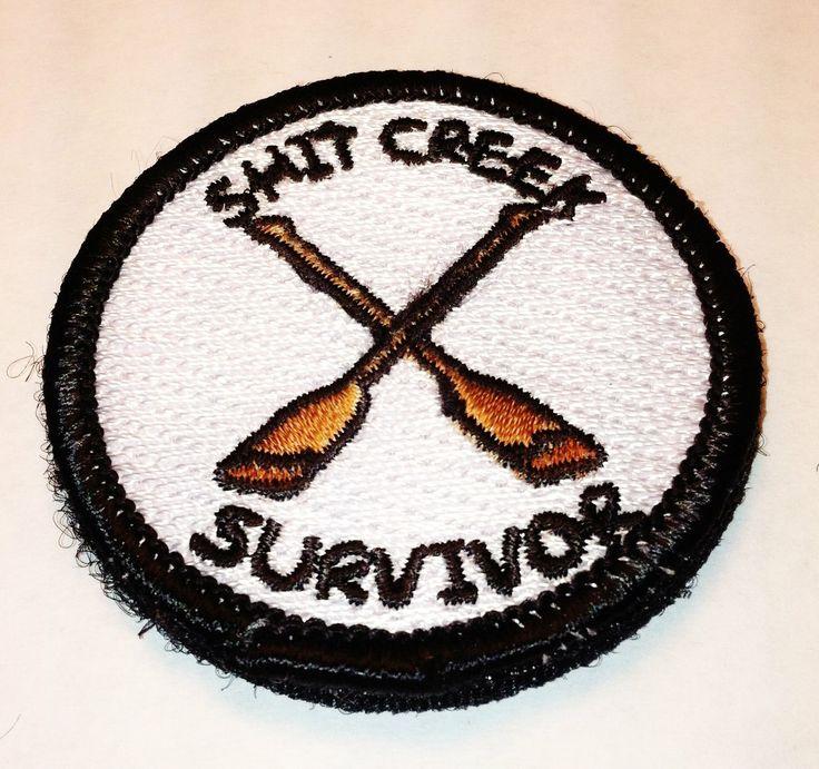 The Shit Creek Survivor Tactical Morale Merit by TacticalTextile, $8.99