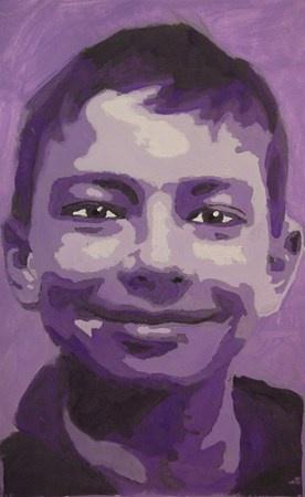 Portrait in Monochromatic Values - Artsonia Lesson Plan