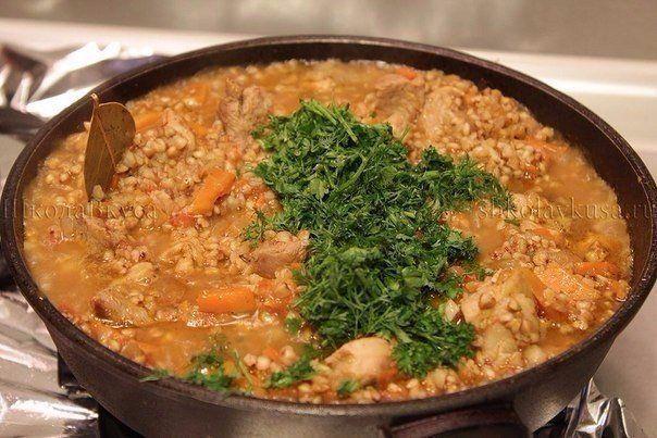 Рецепт такой гречки покорил весь мир.   Наша кухня - рецепты на любой вкус!