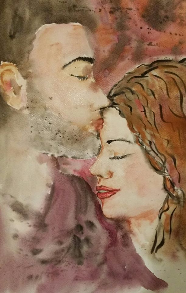 akvarell  -Szerelem