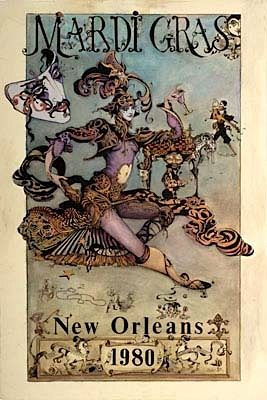 love this old mardi gras poster