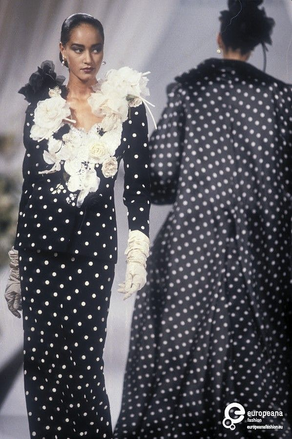 Polka dot fashion history 65