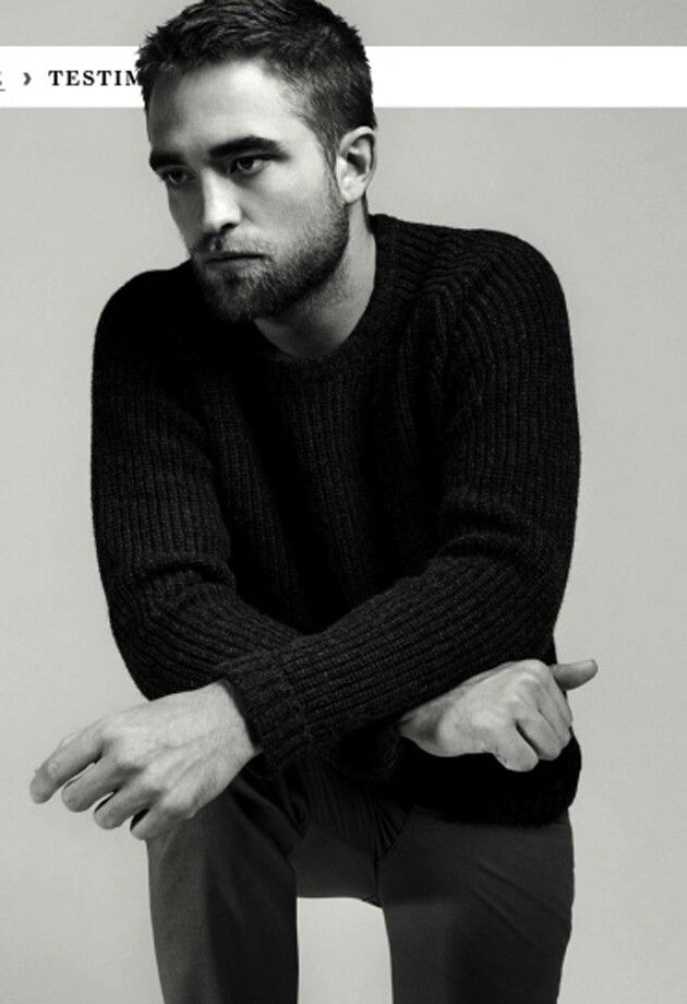 Robert Pattinson for Dior
