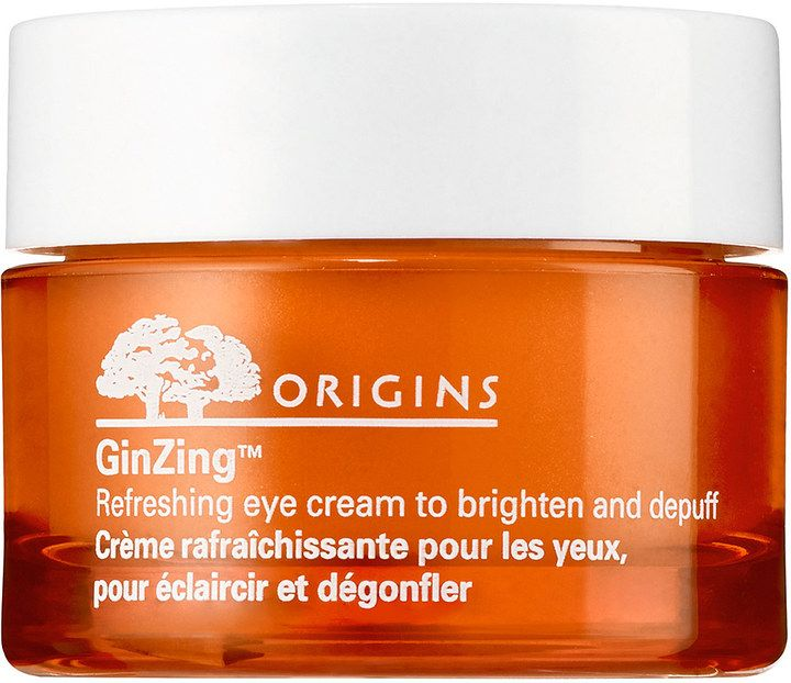 Origins GinZing Refreshing Eye Cream Which skin type is it good for? ✔ Normal ✔ Oily ✔ Combination ✔ Dry ✔ Sensitive What it is: An energizing eye-opener that instantly wakes up tired eyes. Solutions for: - Dullness - Puffiness - Dark circles If you want to know more...
