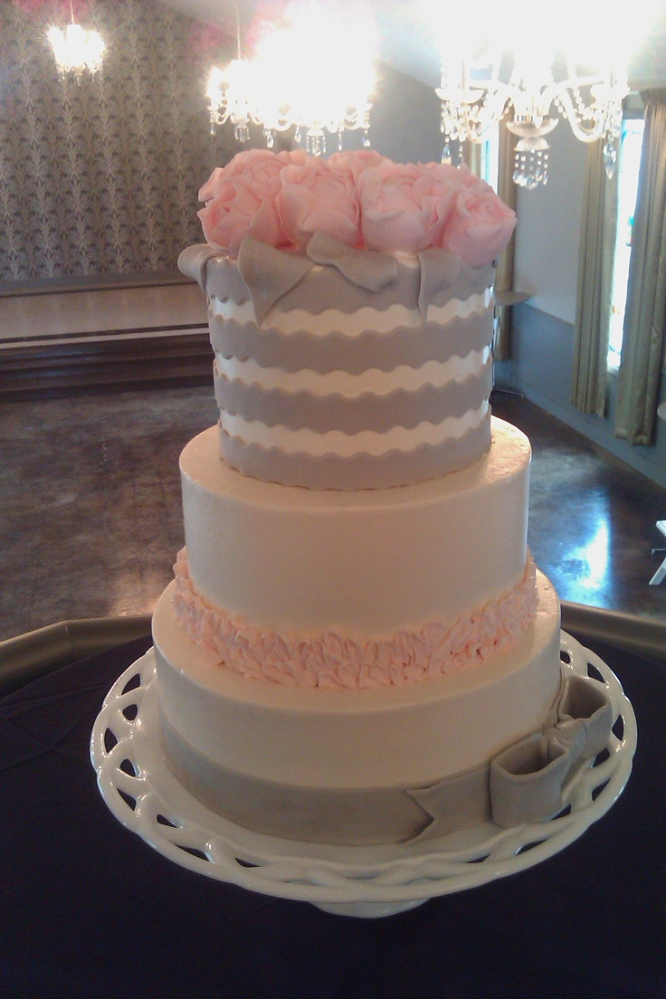 pink and grey wedding cakes 25 best ideas about grey wedding cakes on 18548