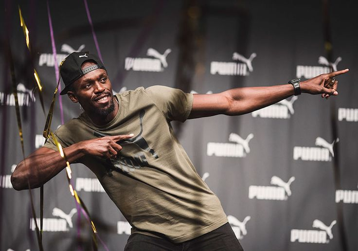 Usain Bolt Gifted Special Edition PUMA Spikes as He Prepares for Final Race