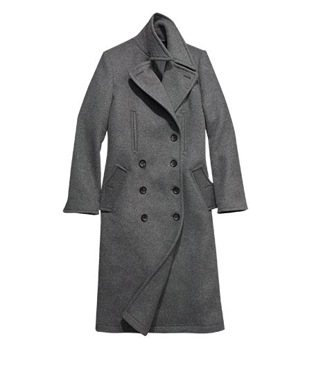 mens wool trench coat Coach