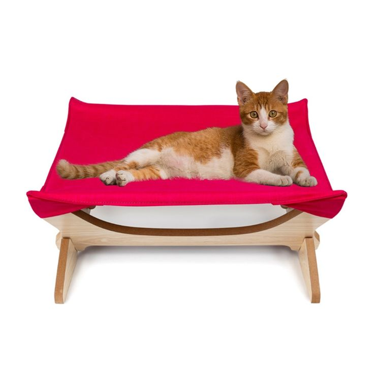 Cat Hammock Large Soft Plush Cat Bed for Indoor Cat Holds Small to Medium Cat or…