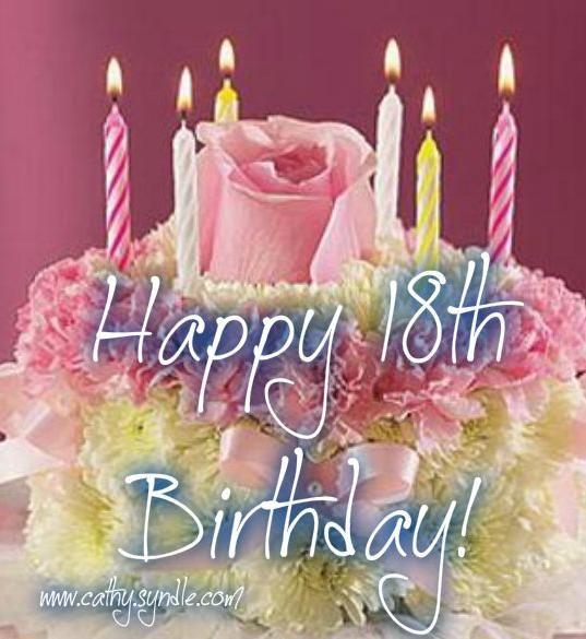 15 Best Happy 18th!! Images On Pinterest