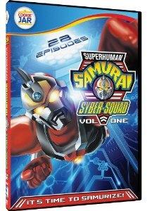 Amazon.com: Superhuman Samurai Syber Squad - Volume 1 - 28 Eps: Matthew Lawrence, Glen Beaudin, Robin Mary Florence, Troy Slaten: Movies & TV