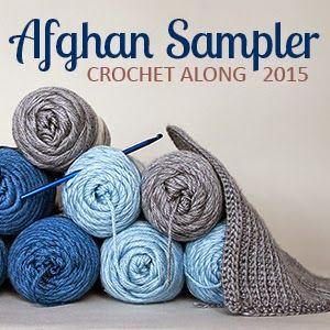 Crochet Along Afghan Sampler 2015 | The Inspired Wren  ༺✿ƬⱤღ http://www.pinterest.com/teretegui/✿༻