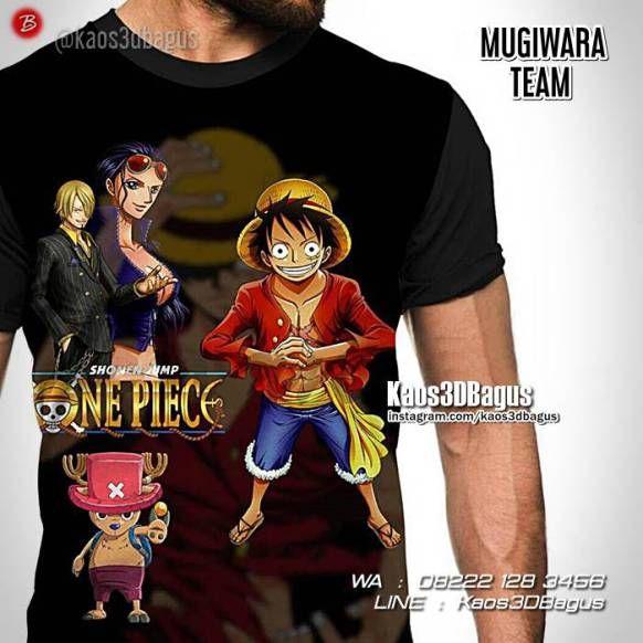 Kaos ONE PIECE, Kaos LUFFY, Kaos3D, Mugiwara Team, Kaos Karakter One Piece, https://kaos3dbagus.wordpress.com, WA : 08222 128 3456, LINE : Kaos3DBagus