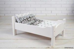 Drewniane łóżeczko dla lalek - Trafiony prezent