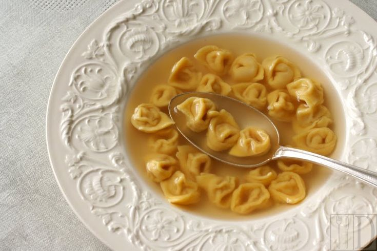 Tortellini in brodo - Recipe by ildiariogastronomico | The real thing!!!!! And best dish for a cold damp day.