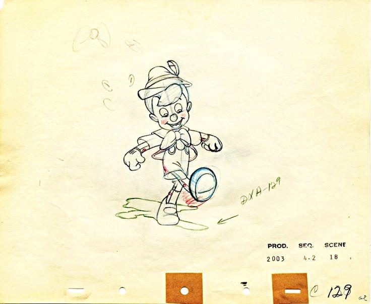 original disney sketches -