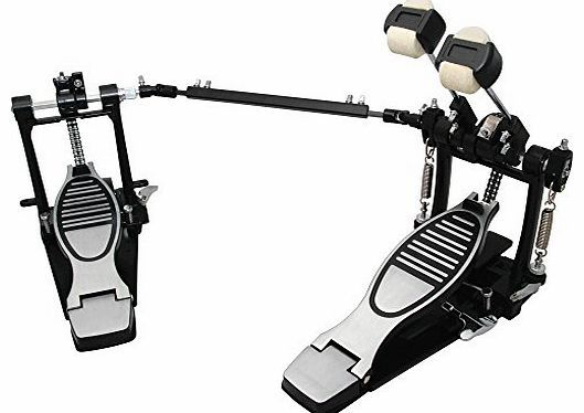 Essentials Percussion Double Kick Bass Drum Pedal, Chain Driven With Floorplates The Essentials Double Kick Bass Drum Pedal features a great response with both its pedals and a heavy duty construction throughout. (Barcode EAN = 5052441606834). http://www.comparestoreprices.co.uk/bass-guitars/essentials-percussion-double-kick-bass-drum-pedal-chain-driven-with-floorplates.asp
