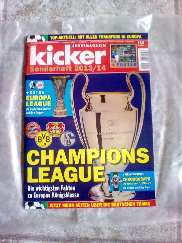 Kicker!Sportmagazin!CHAMPIONS LEAGUE!Sonderheft 2013/14