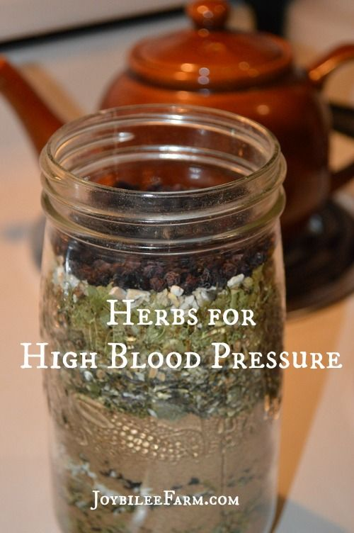 Herbs for high blood pressue -- Joybilee Farm