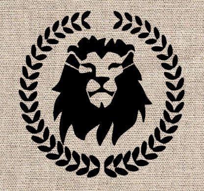 Lion Head Stencil  Lion Head Stenc...