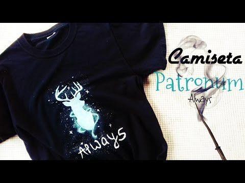 DIY Crea Tu Camiseta Patronum Always From Harry Potter Facil! || William Gordon - YouTube