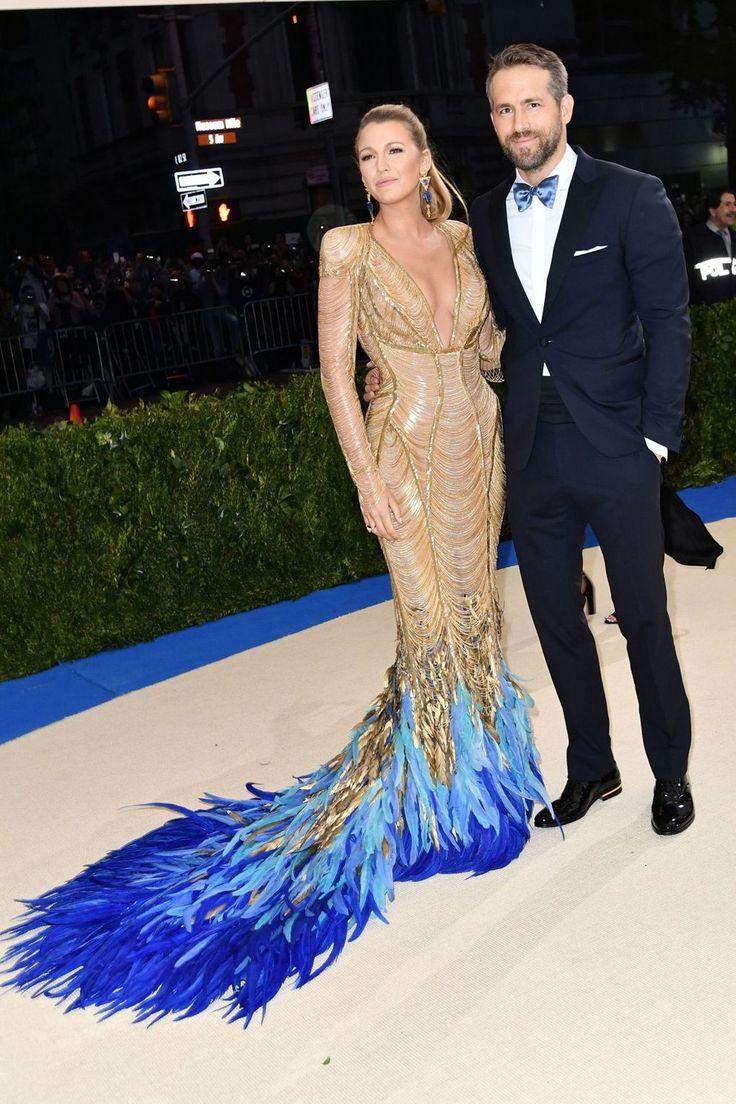 Blake Lively & Ryan Reynolds @Met Gala 2017