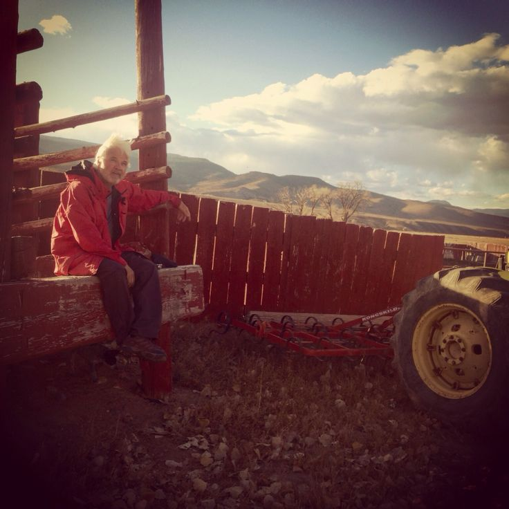 Contemoplating life at the Rockin'R Ranch in Antimony, Utah!