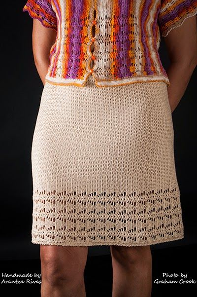 HANDMADE BY ARANTZA RIVAS Emilia crochet skirt Photo by Graham Crook