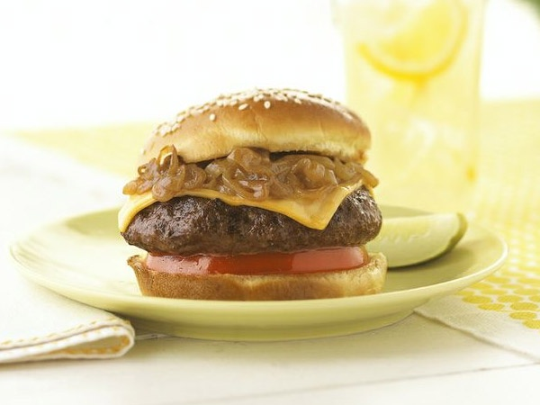 Recipes - Main Courses - Cowboy Burgers - Kraft First Taste Canada