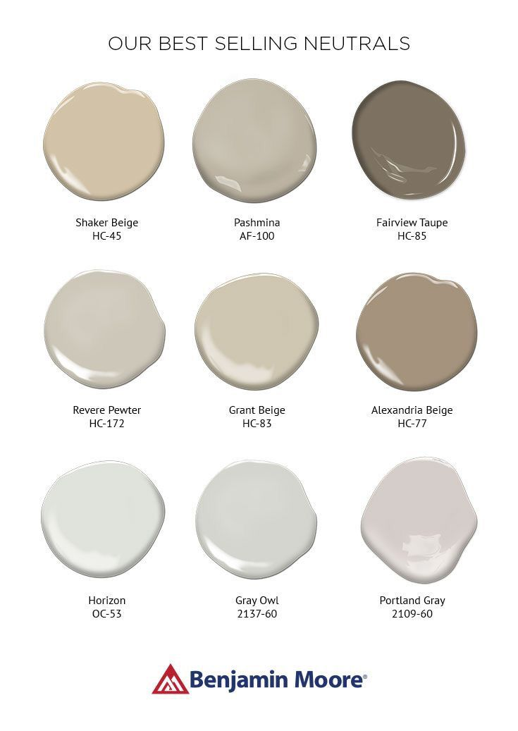 Interior & exterior paint colors.