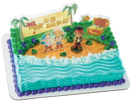 Cake Decorating idea - Jake and the Neverland Pirates