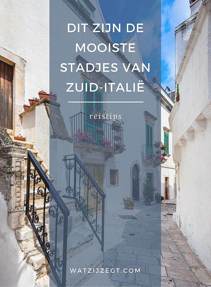 Dit zijn de mooiste stadjes van Zuid-Italië!