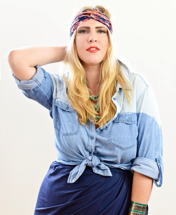 Dip-Bleached Chambray Shirt