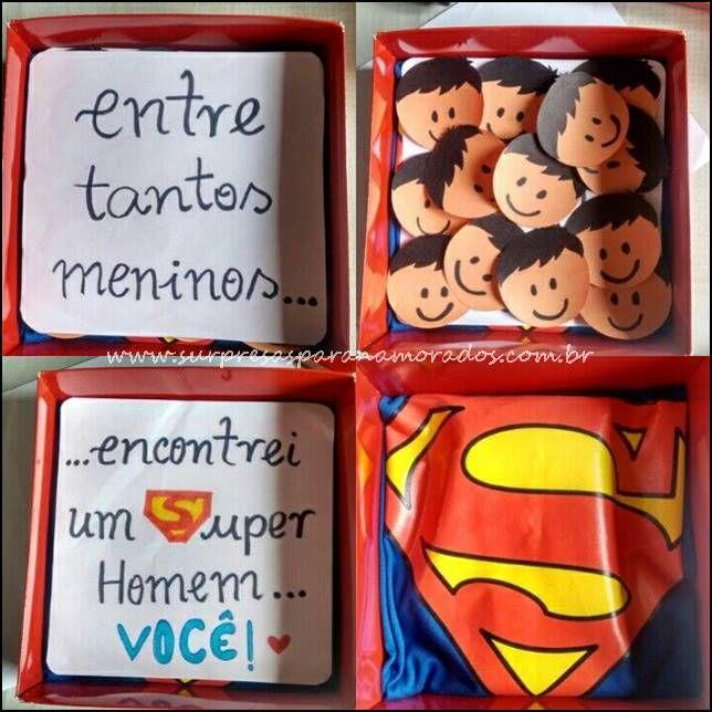 caixa super homem