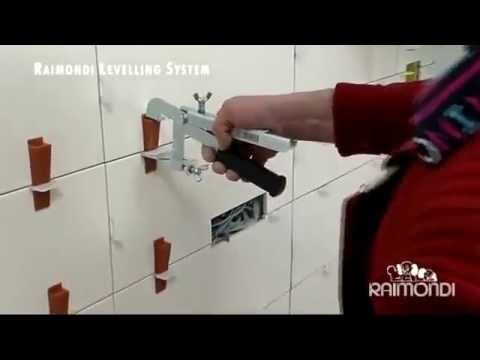 The Raimondi Tile Leveling System prevents lippage on your tile installation jobs! Why risk having uneven tiles, an angry customer, and a job that needs to b...
