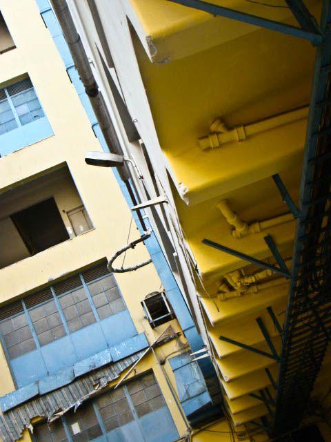 The yellow beams